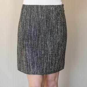 Sonia Rykiel Grey/Black Tweed Skirt